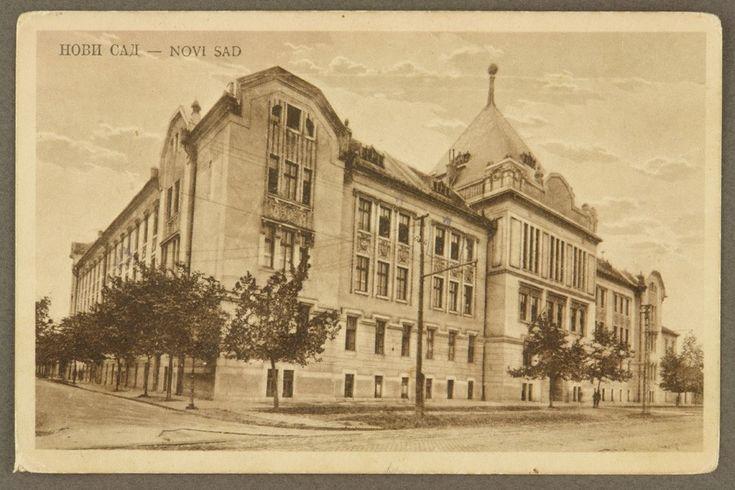 Нови Сад : Мађарска гимназија - Дигитална БМС