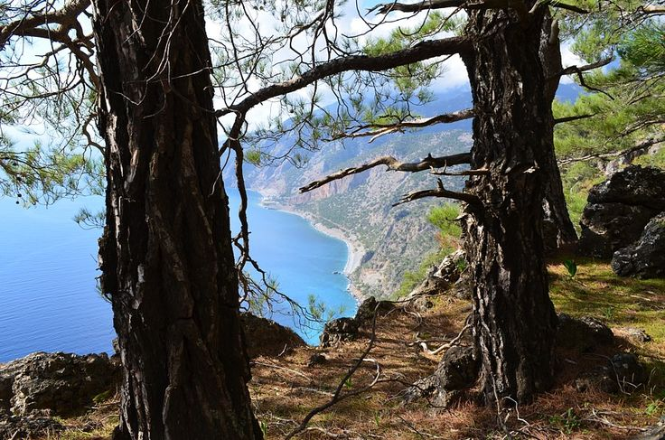 The view from Agios Ioannis path in Sfakia