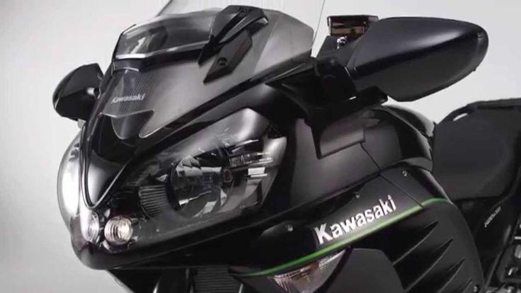 New Kawasaki 1400GTR MY15 - Official Video