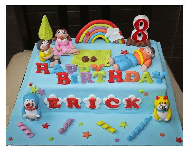 Doraemon Cakes 06 cakepins.com