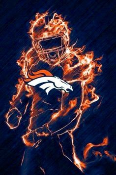 Denver broncos on fire! XD