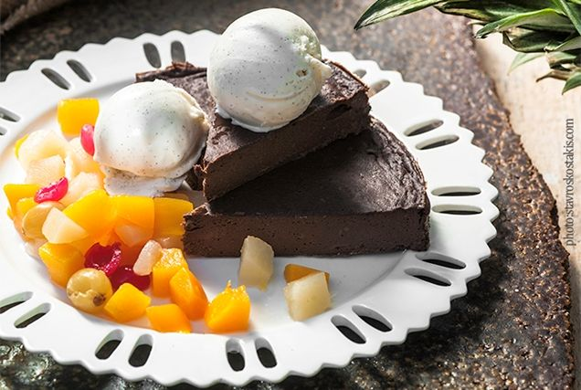Κέικ σοκολάτα ψυγείου