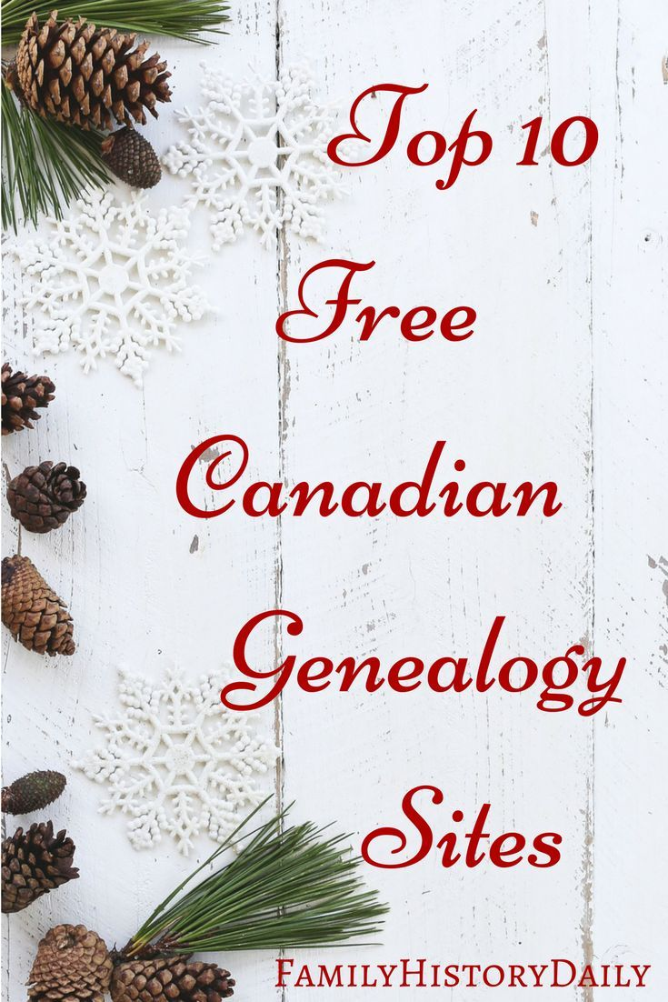 10 Free Canadian Genealogy Websites | Family history book ideas