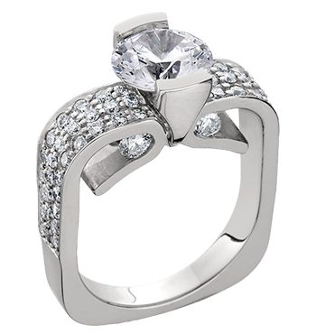 1000 images about engagement rings on cushion