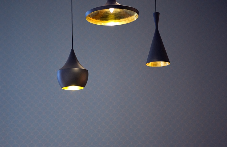 Wallpaper and light fittings designed especially for our new space. http://www.museumofbrisbane.com.au