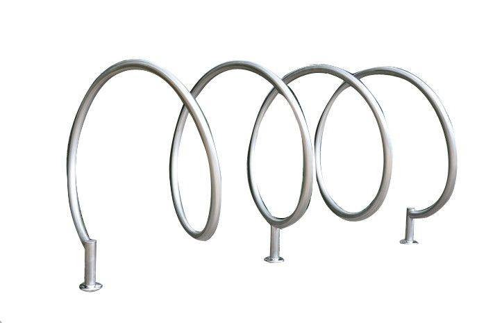 Spiral Bicycle Stand