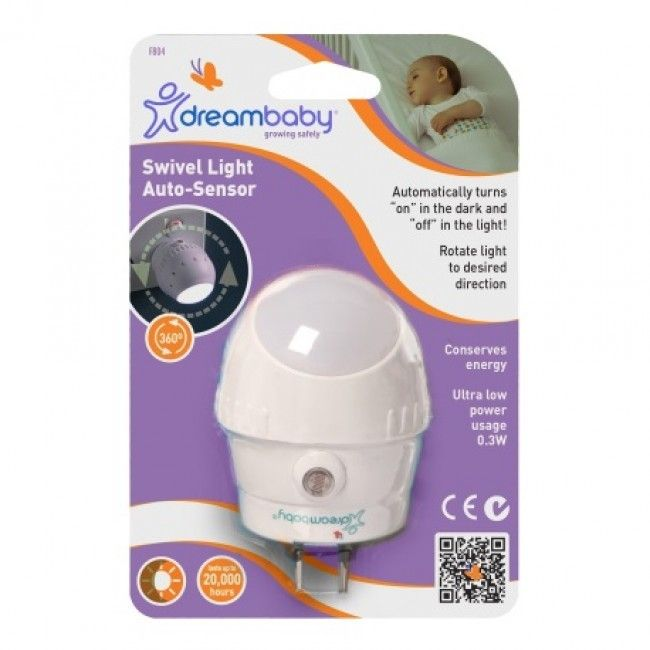 Dreambaby - Auto Sensor Swivel Light - Love Mum