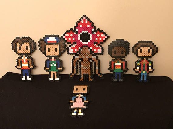 Go into the upside down this holiday with these Stranger Things ornaments: 6 piece ornament set. (Demogorgon, Eleven, Mike, Dustin, Lucas and Will) For a custom order, please feel free to let us know! We would be more than happy to help! Shipping: US and International Orders are