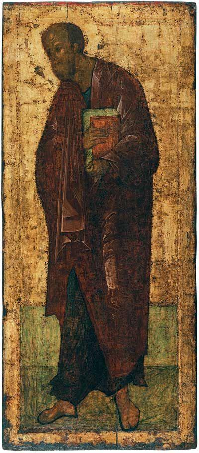 Троеце-сергиева лавра. Деисус из Троицкого собора. Апостол Павел.