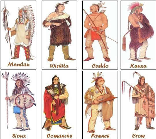 Tribes of the plains Indians. Aquya'e is the First Plains Tribe, which isn't on there.