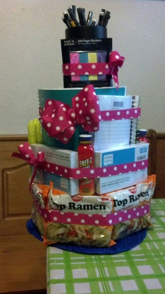 College Essential Gift Bags