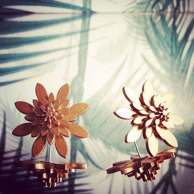 #wearjuju #plexiglasjewelry #gold #juju #inlove