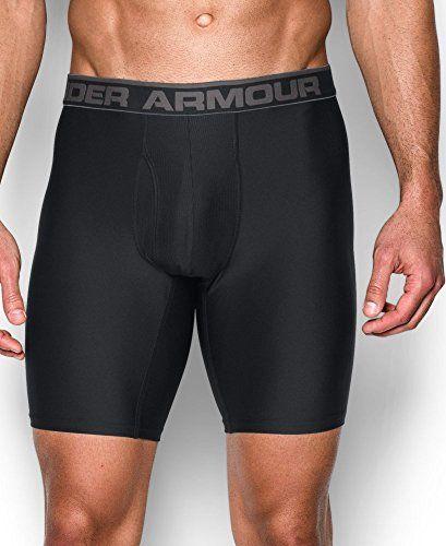 "Under Armour Men's Original Series 9"" Boxerjock Black/Black XX-Large"
