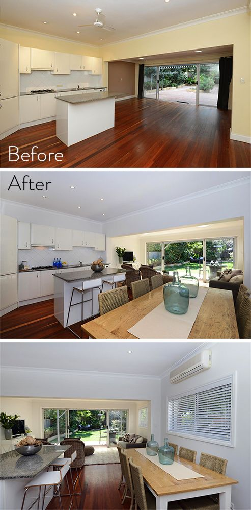 Sometimes a small home 'facelift' goes a LONG way. Stunning kitchen renovation by Smith & Sons.