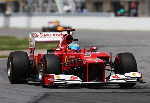 Fernando Alonso 2012 Montreal GP