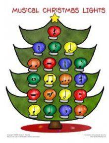 Music Christmas Lights Bingo                                                                                                                                                                                 More