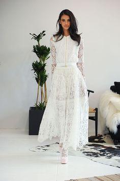 HOUGHTON BRIDE 2016 // #houghton #bride #bridal #2016 #thebridalatelier #sydney #melbourne #wedding #dress #gown #inspiration #twopiece #lace