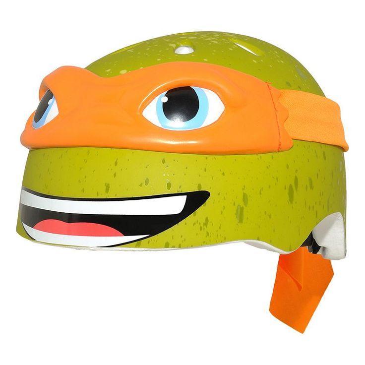 Youth C Preme Teenage Mutant Ninja Turtles Bike Helmet, Orange