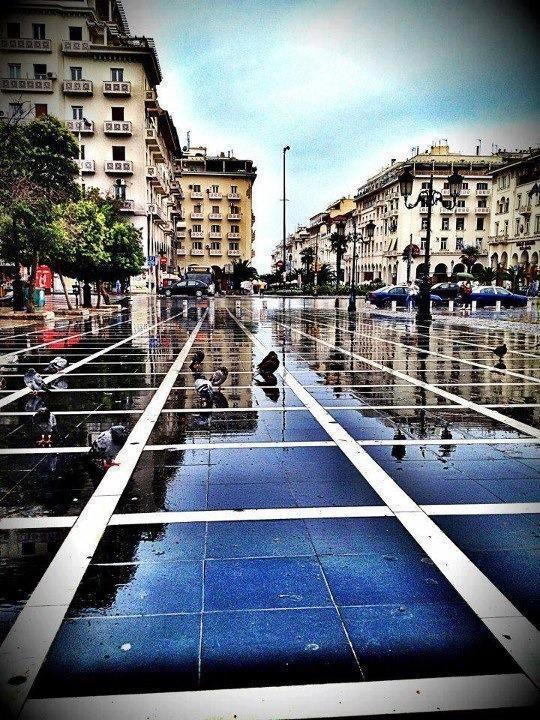#Thessaloniki #rainy_day #hellenicdutyfreeshops