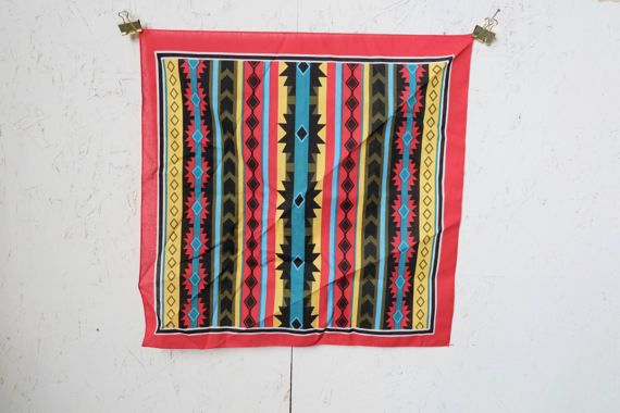 Check out this item in my Etsy shop https://www.etsy.com/listing/506926386/fabulous-90s-southwestern-pattern-red