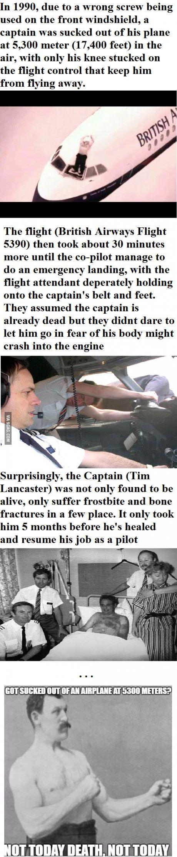 True story - British Airways Flight 5390