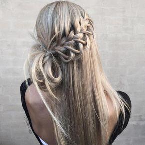 Lace Loop Braid + Messy Bun