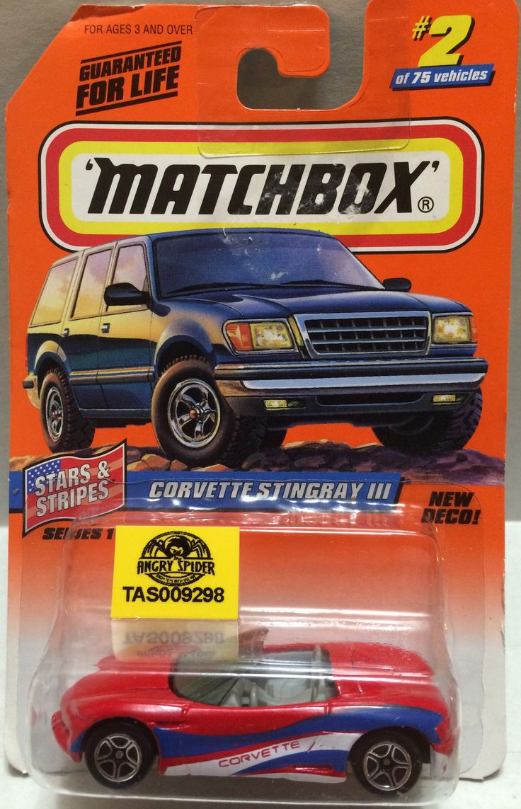 (TAS009433) - Matchbox Die-Cast - Corvette Stingray III #2 of 75