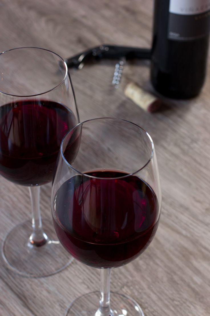 Red Wine at The Blue Boar, Witney