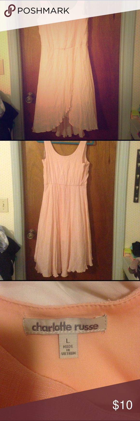 "Charlotte Russe Dress High low Charlotte Russe dress. Good condition. 34"" in the front and  42"" in the back Charlotte Russe Dresses High Low"