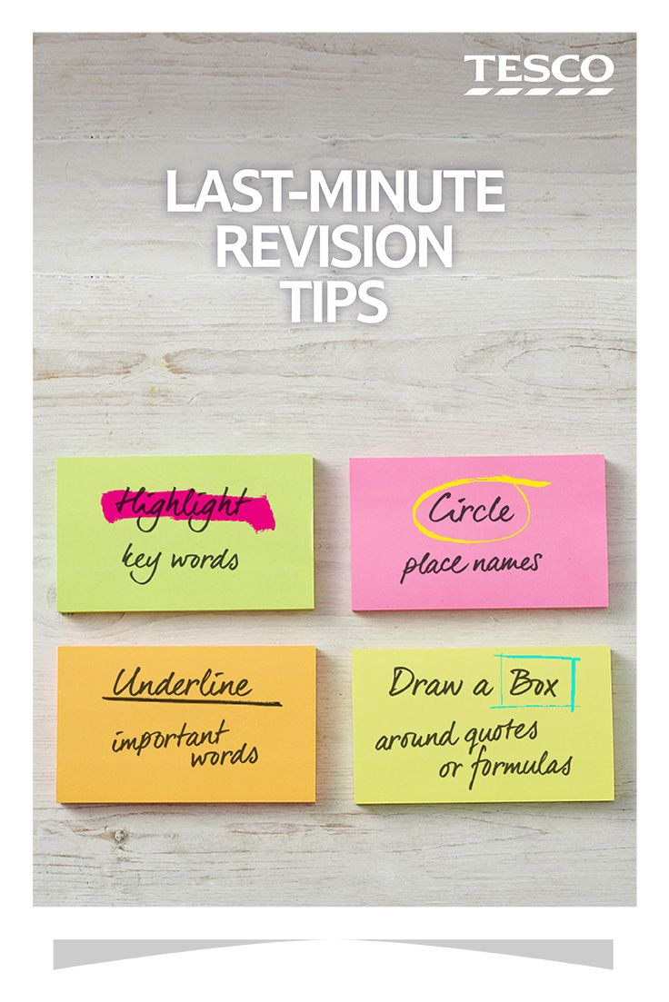 Last minute revision? Check out these techniques for flash cards that'll really help you remember important information.