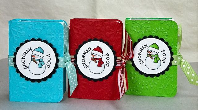 Enchanted Ladybug Creations: Snowman Poops & Grinch Pills.. 8-)  See another link to a tutorial on making these
