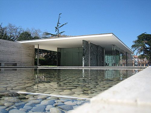 Barcelona Pavilion, Mies Van Der Rohe, Spain.