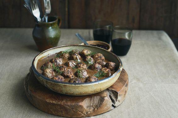 Swedish-ish Meatballs, a recipe on Food52