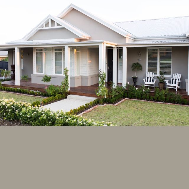 RENDER - Dulux Mangaweka - appears quite dark but once painted and with different light this choice was perfect Roof - Colourbond Shale Grey Facia - Colourbond Surfmist Veranda posts, garage and weatherboards - Colourbond Surfmist Windows - Dulux Vivid White Eves - Mount Aspiring Entrance and studio door - Black Cavier