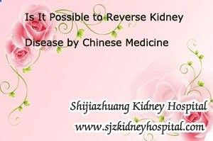 Is it possible to reverse kidney disease by Chinese Medicine? As we all know that kidney disease is hard to be reversed, but in the early stage of this disease it can be controlled well with timely and properly treatment, especially in the early stage of kidney diseases.