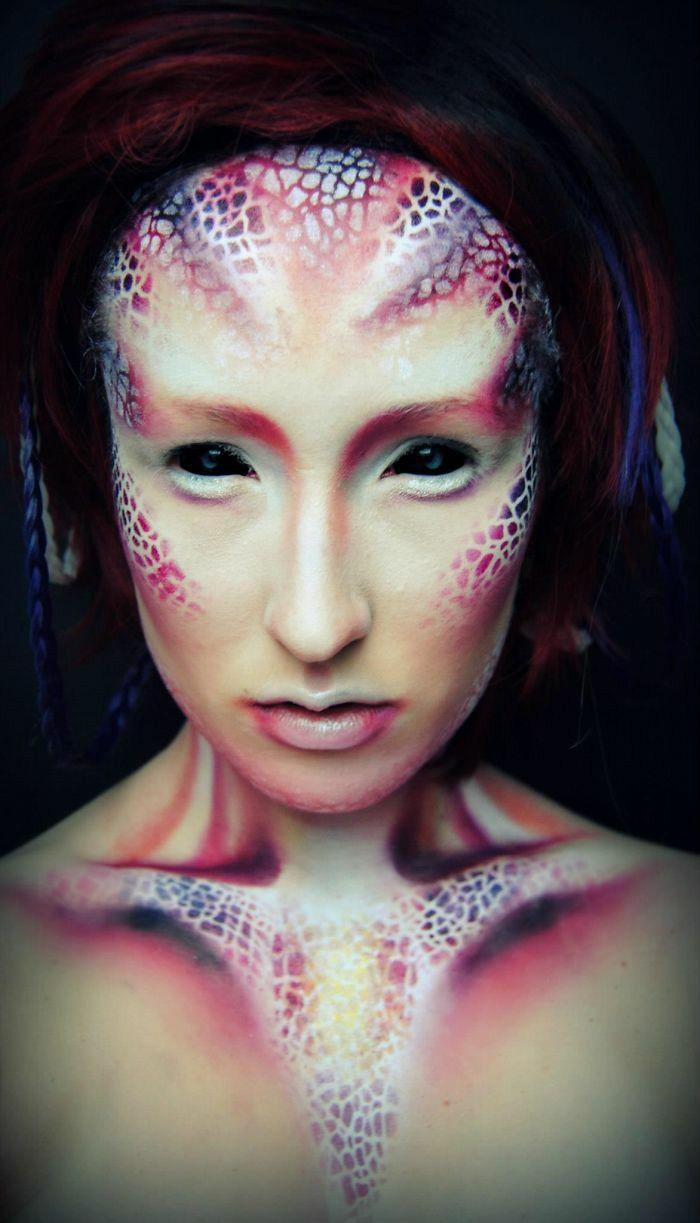 Joyce Spakman and your professional Halloween Makeup