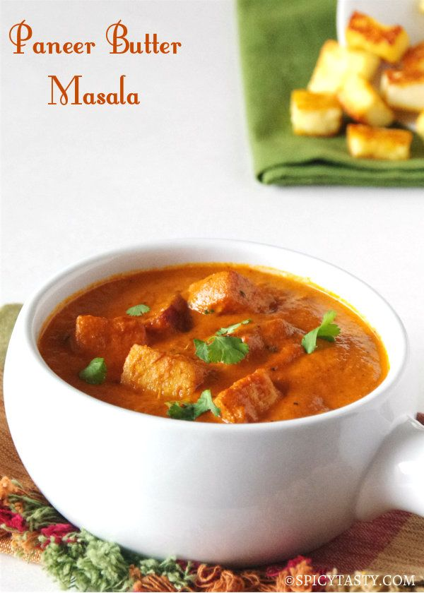 Paneer Butter masala- the only change would be to add cream/milk slowly with flame on sim. Else you end up with curdles masala not creamy :(