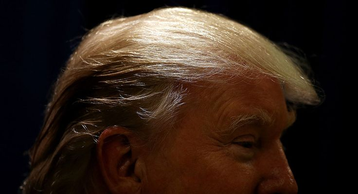"Donald Trump bashed an article on the front page of Thursday's New York Times during a campaign speech in Greenville, South Carolina, taking issue with both its quotes and its reporting. The article cited a Spanish radio host in Los Angeles who refers to Trump as ""El hombre peluquín,"" or ""the man of the toupee.""..."