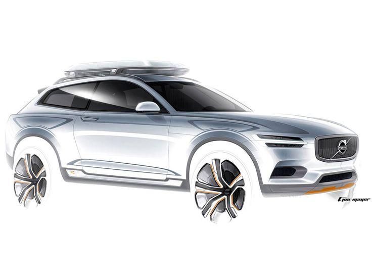 Volvo Concept Sketch
