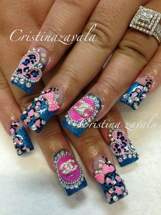 47 best Nails Pink And Brand Names images on Pinterest   Breast ...