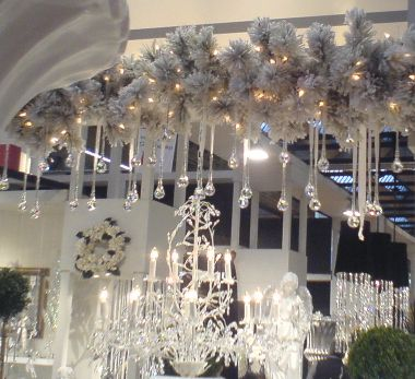 christmas decorations for storeshop windows and street frontage - Christmas Lights Store