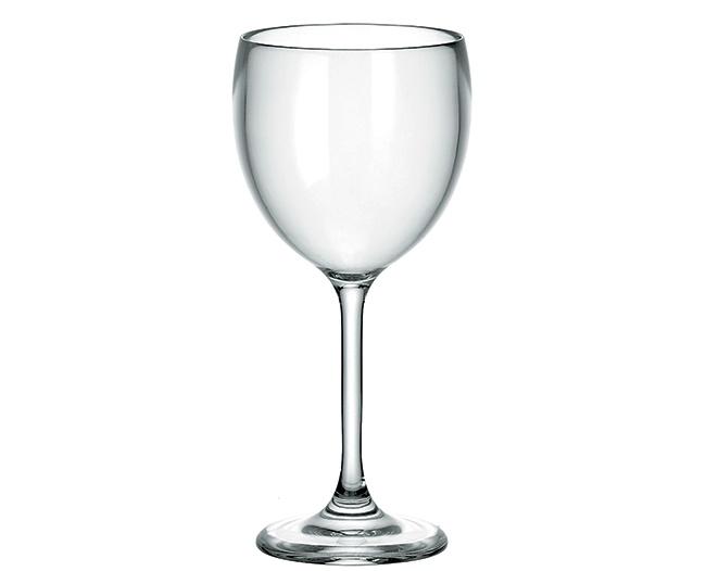 Guzzini Happy Hour Wine Glass, Clear