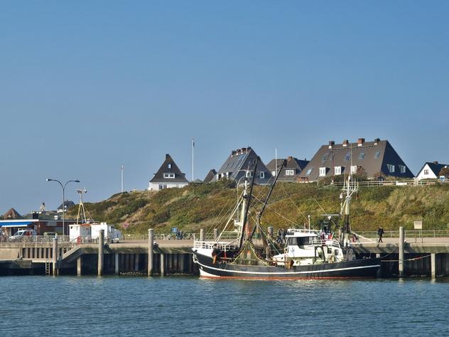 Hoernum-Sylt-Nordsee-Hafen