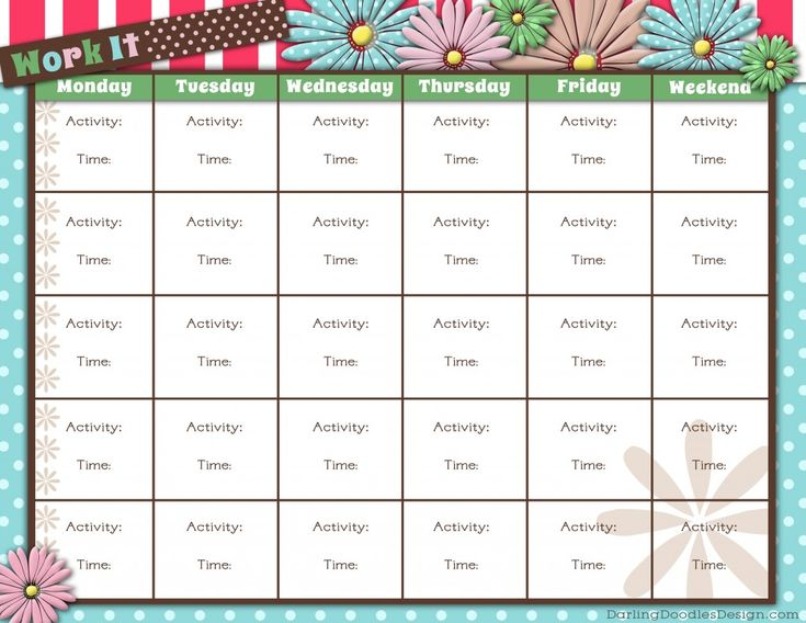 Unique T25 Workout Calendar Printable Free Printable - Imagez co