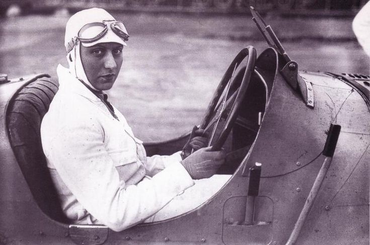 Hellé Nice, the tittalating French female race car driver of the 1920's and 30's.  FAST WOMEN IN HISTORY | AUTO RACING'S TOUGH FEMALE PIONEERS « The Selvedge Yard