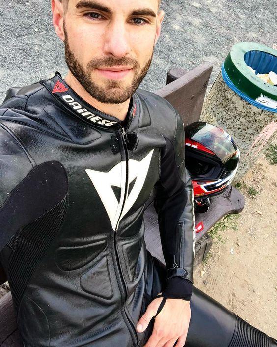 Pin von LeatherLad auf Bikers | Lederkombi herren