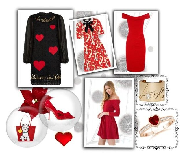 """Valentines"" by leloquevedo on Polyvore featuring Komar, Dolce&Gabbana, Yves Saint Laurent, Lanvin, Miu Miu, Marc Tetro, women's clothing, women, female and woman"