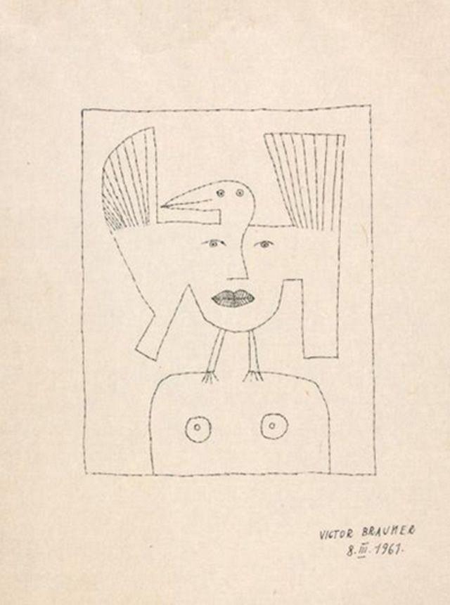 """""""Trasul cu arcul"""" din 1961 Victor Brauner"""