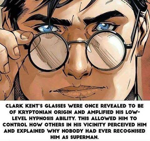 Clark Kent glasses disguise