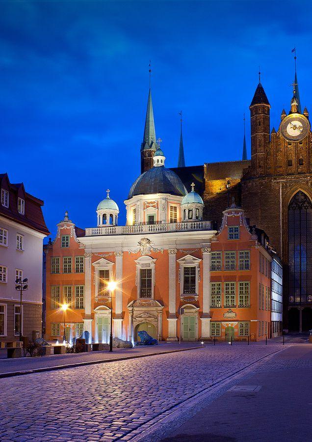 Royal #Chapel in #Gdansk by Jarek Kozlowski, via 500px.